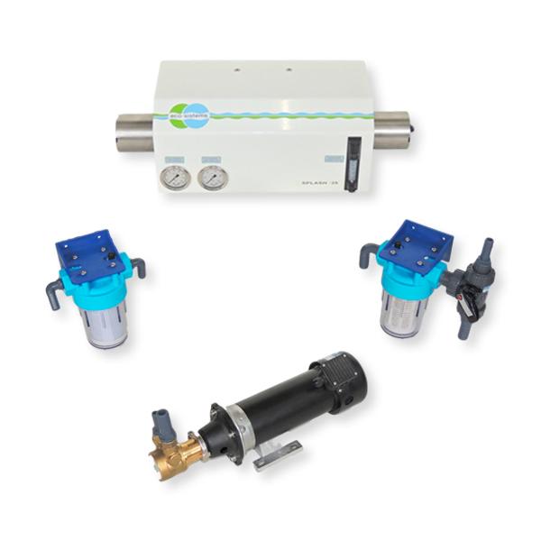 Potabilizadora de agua de mar. 25 litros/h